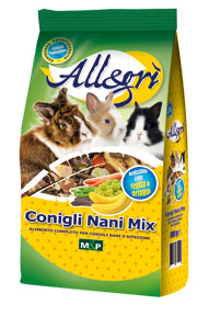 Conigli Nani Mix 800 g